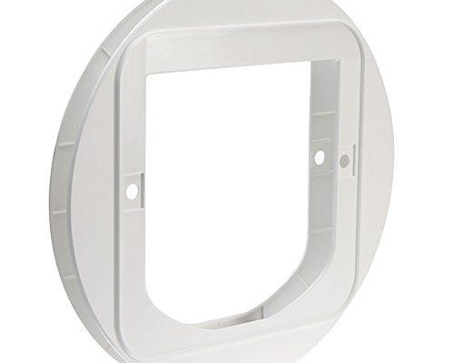 sureflap katzenklappe montageadapter wei taketik. Black Bedroom Furniture Sets. Home Design Ideas