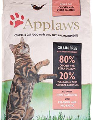 applaws katze erwachsene huhn mit extra lachs trockenfutter 1er pack 1 x 7 5 kg taketik. Black Bedroom Furniture Sets. Home Design Ideas