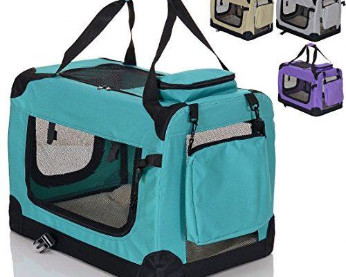 faltbare hundebox haustier transportbox klappbare autobox. Black Bedroom Furniture Sets. Home Design Ideas