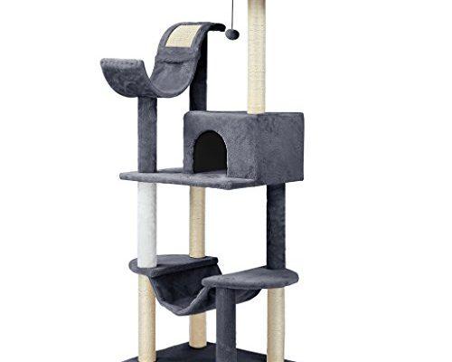 finether katzenbaum kratzbaum katzenkratzbaum kletterbaum mit liegeplatz h hle kratzwelle und. Black Bedroom Furniture Sets. Home Design Ideas