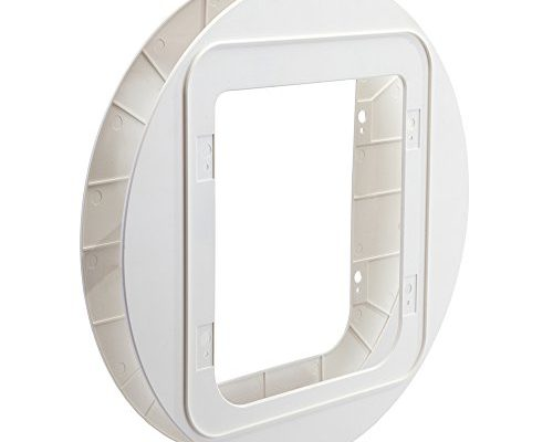 sureflap haustierklappe montageadapter wei taketik. Black Bedroom Furniture Sets. Home Design Ideas